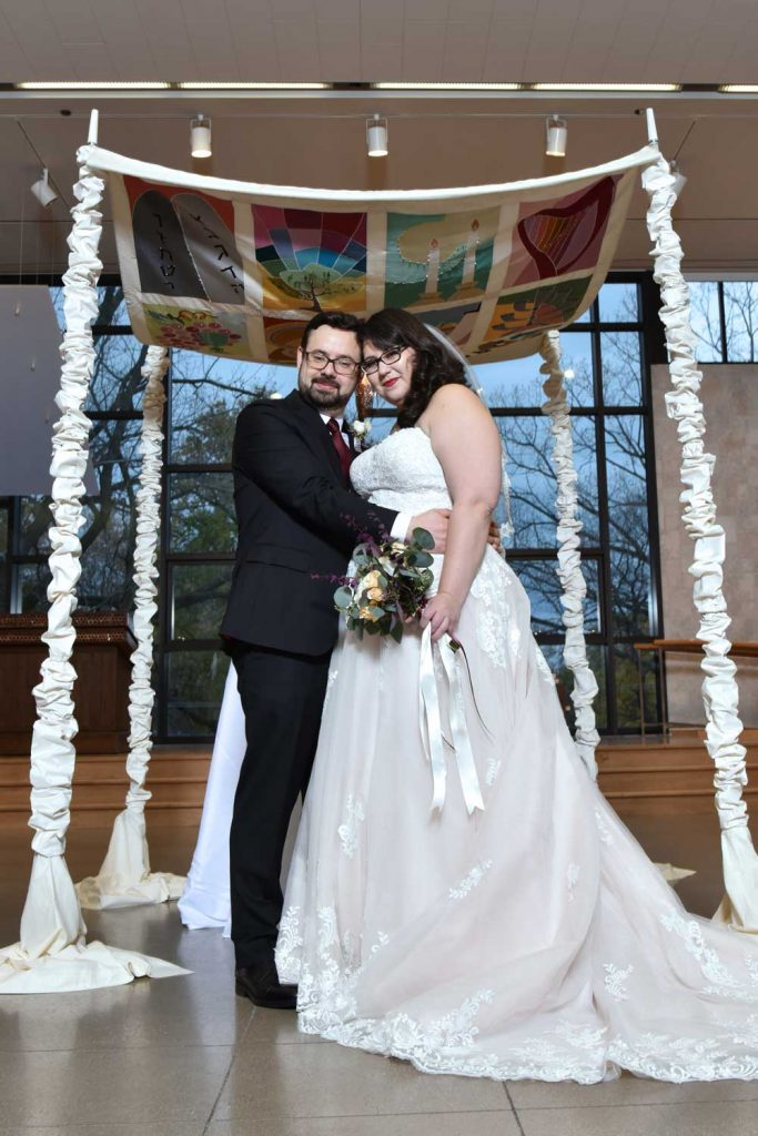 Jewish wedding chuppah photo